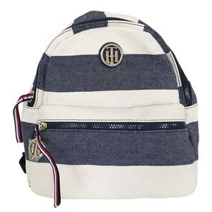 New Tommy Hilfiger Rugby Small Dome Backpack